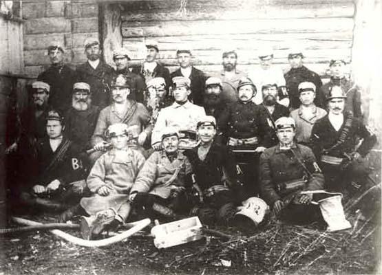 Туровская пожарная команда, 1902 год