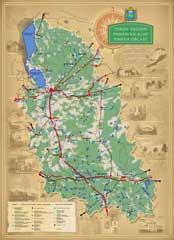 Карта Псковской области «Интурист»