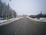 Советская улица, справа АЗС, направление в сторону Порхова, Новоржева
