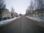 Улица Смольная, от СберБанка в сторону ресторана