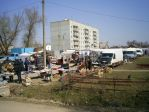 Рыночный день в поселке Бежаницы