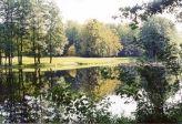 Богдановский пруд в деревне Красное Солнце